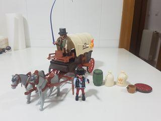 caravana oeste playmobil