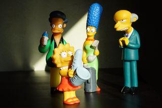 Pack muñecos de Los Simpsons