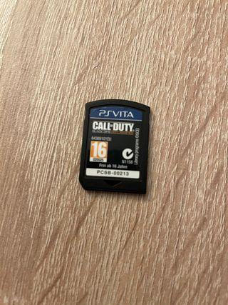 PlayStation PS Vita Call Of duty Black OPS