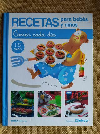 3x2 Recetas para bebés y niños. Libro
