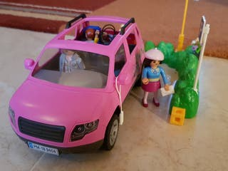 playmobil coche familiar 9404