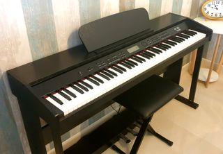 Piano Digital 88 Teclas con Pedales + Silla