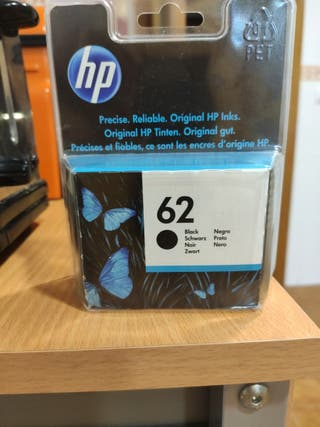 Cartucho de tinta HP 62 negro