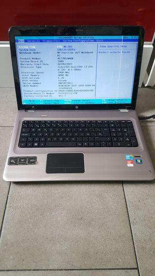 Hp Pavillion dv7 Intel core i7