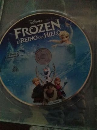 pelicula Frozen en blue-ray