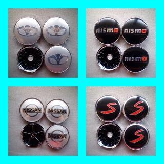 Tapabujes centro rueda:Daewoo,Nismo,Mini S,Nissan