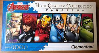 Puzzle panorama Avengers - 1000 piezas