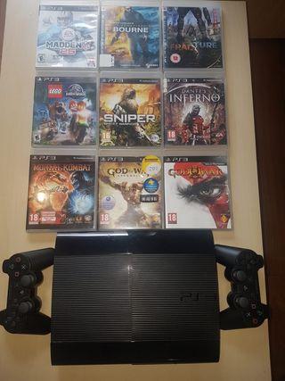 Consola PS3, nintendo wii u, ps vta