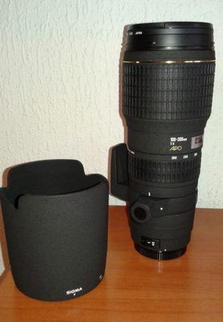 TELEOBJETIVO SIGMA 100-300 f/4