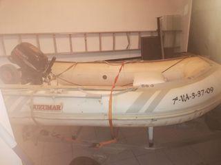 vendo barca semirrigida