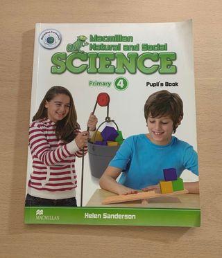 Libro Ciencias 4 primaria inglés