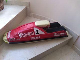 Maqueta publicidad Winston Moto 70 cms largo