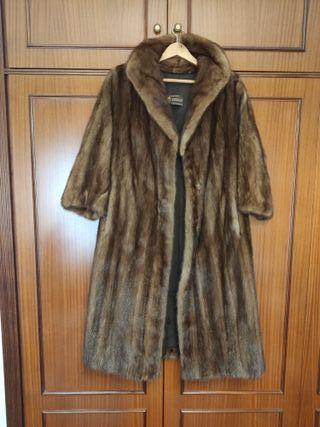 Abrigo de piel de visón