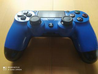 Mando ps4 original azul