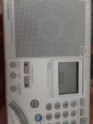 RADIO SONY ICF - SW7600GR