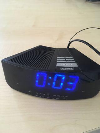 Radio - reloj - despertador