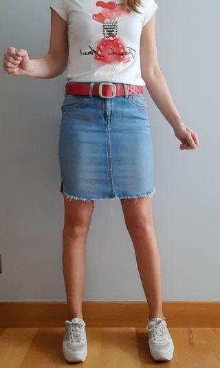 Falda vaquera Pepe Jeans. Talla 16.