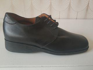 Zapatos El Corte Ingles mujer 36, piel