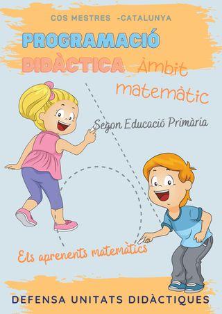 Programació didàctica àmbit matemàtic 2n primària