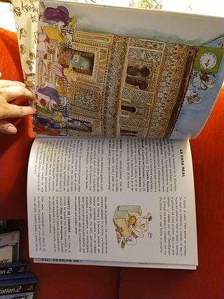 Lote 2 libros Mezquita de Cordoba y Alhambra