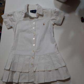 Vestido RALPH LAUREN. 2 años