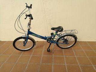 Bicicleta urbana plegable