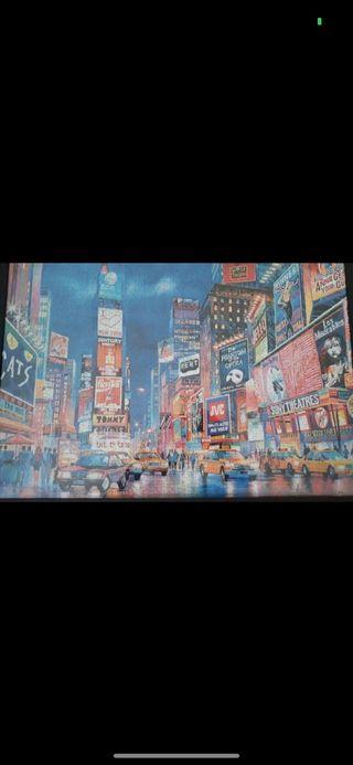 Puzzle 1000 piezas New York con marco