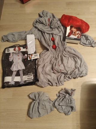 Disfraz payaso diabólico mujer