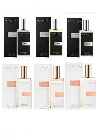 Perfumes YODEYMA 50 ml.