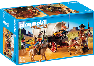 playmobil caravana de bandidos a estrenar