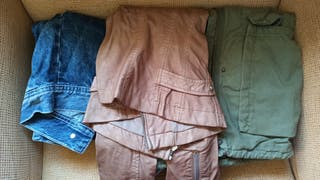 Pack cazadoras/chaquetas