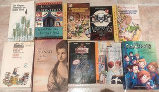 Libros novela/literatura juvenil