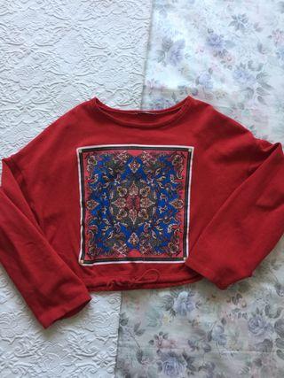 Sudadera Zara