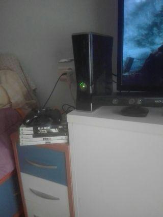 Xbox 360+ mando+ kinect+ juegos varios