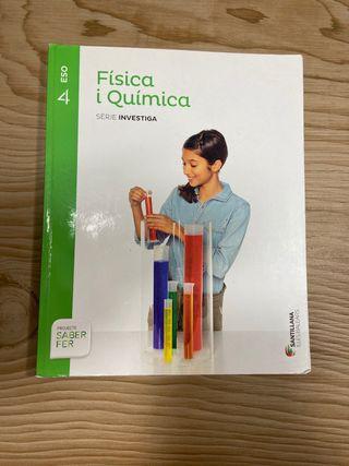 Libro de fisica y quimica(catalan) 4ESO Santillana