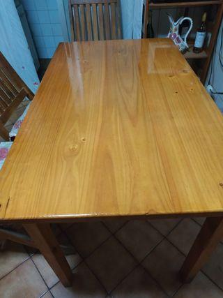 Mesa de cocina +5 sillas