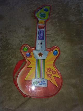 Guitarra infantil táctil e interactiva.+18m/5años