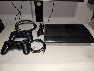 Consola Playstation 3 super slim 12gb +120gb