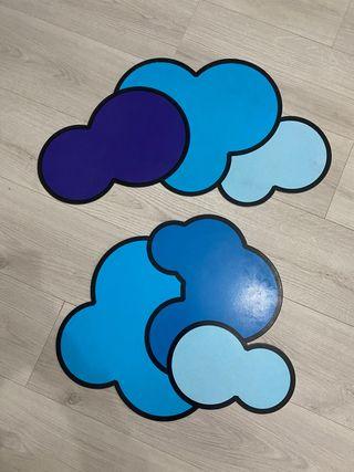 Nubes decoración
