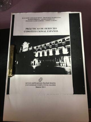 Libro prácticas derecho constitucional