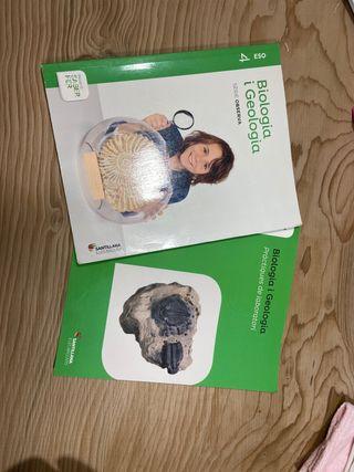 Libro biologia y geologia(catalan) 4ESO Santillana