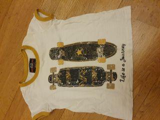 117. camiseta manga corta algodón 2-3 años