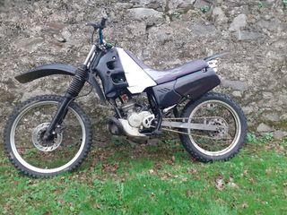 Moto Gilera r twin