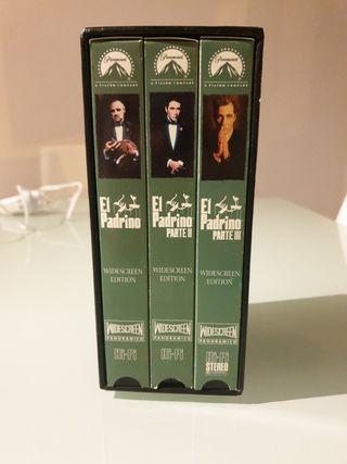 VHS PACK EL PADRINO