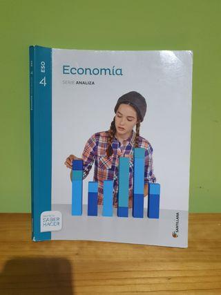 libro 4 eso economía santillana