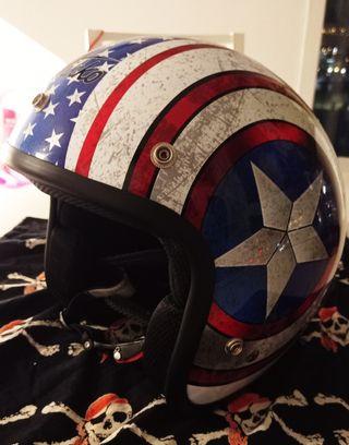 casco capitán América ruta 66