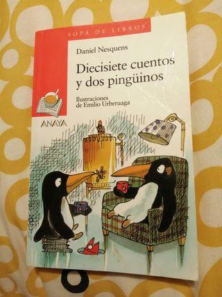 Diecisiete cuentos y dos pingüinos. Daniel Nesquen
