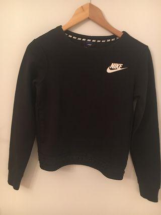 Sudadera crop Nike
