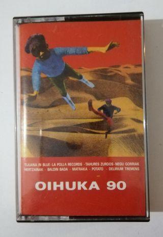 Cinta Cassette Oihuka 90 (Variado Punk).