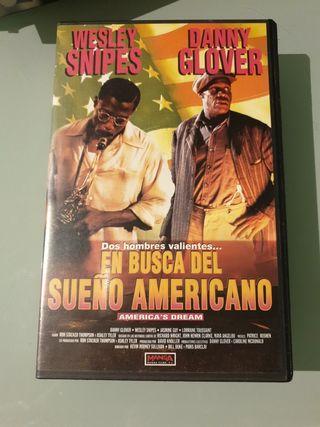VHS EN BUSCA DEL SUEÑO AMERICANO